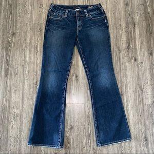 Silver Suki Mid Rise Boot Cut Jeans 31